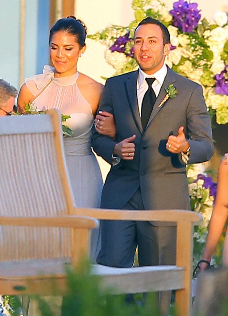 Nick Carter's Wedding Pictures in Santa Barbara | POPSUGAR ...