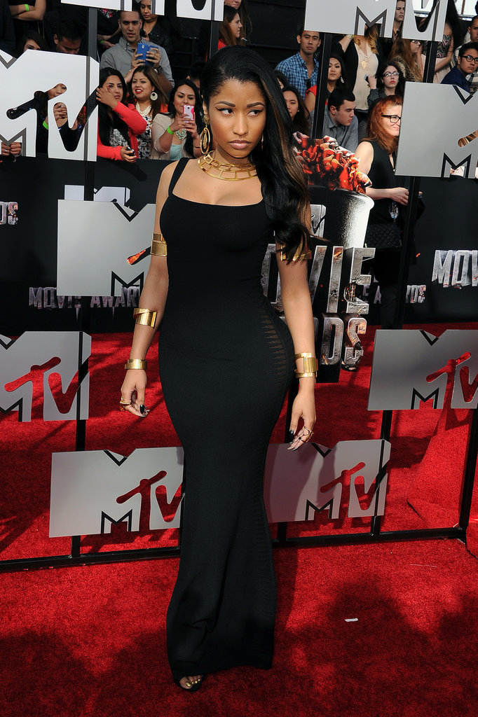 Nicki Minaj at the 2014 MTV Movie Awards