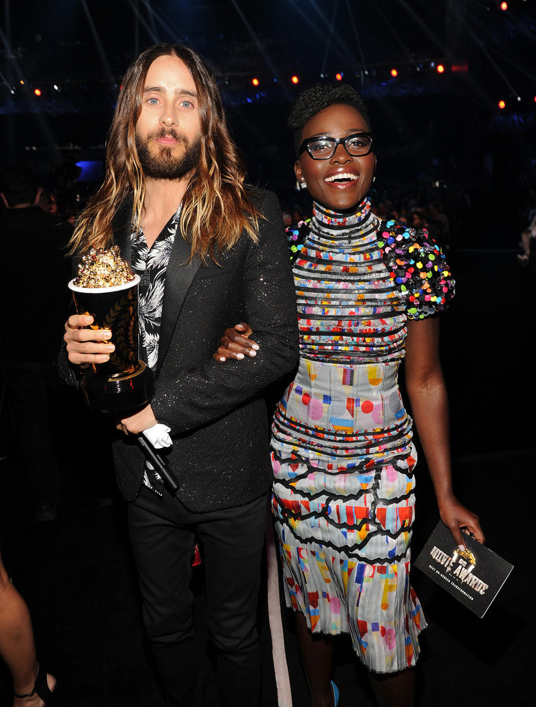 Lupita Nyong'o and Jared Leto Pair Up at Her First MTV Movie Awards