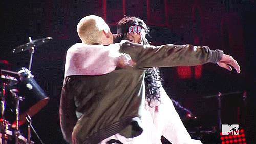 When Eminem and Rihanna Hugged It Out