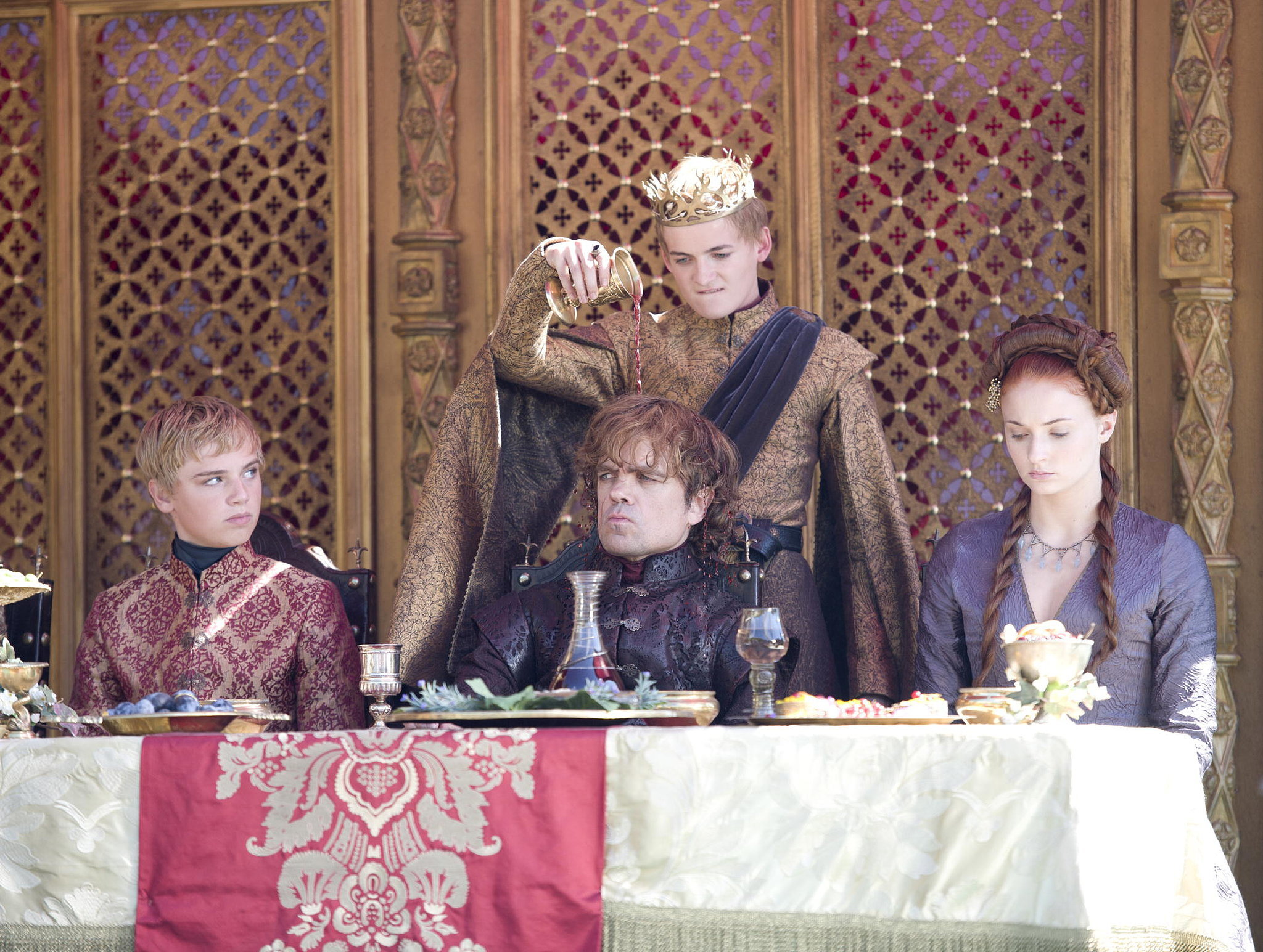 game of thrones purple wedding recap popsugar entertainment