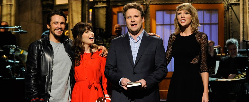 Why James, Zooey, & Taylor Crashed Seth Rogen's Monologue
