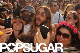 Jared Leto was one of several stars at Coachella last weekend.