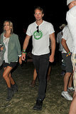 Alexander Skarsgard stepped out with a mystery woman.