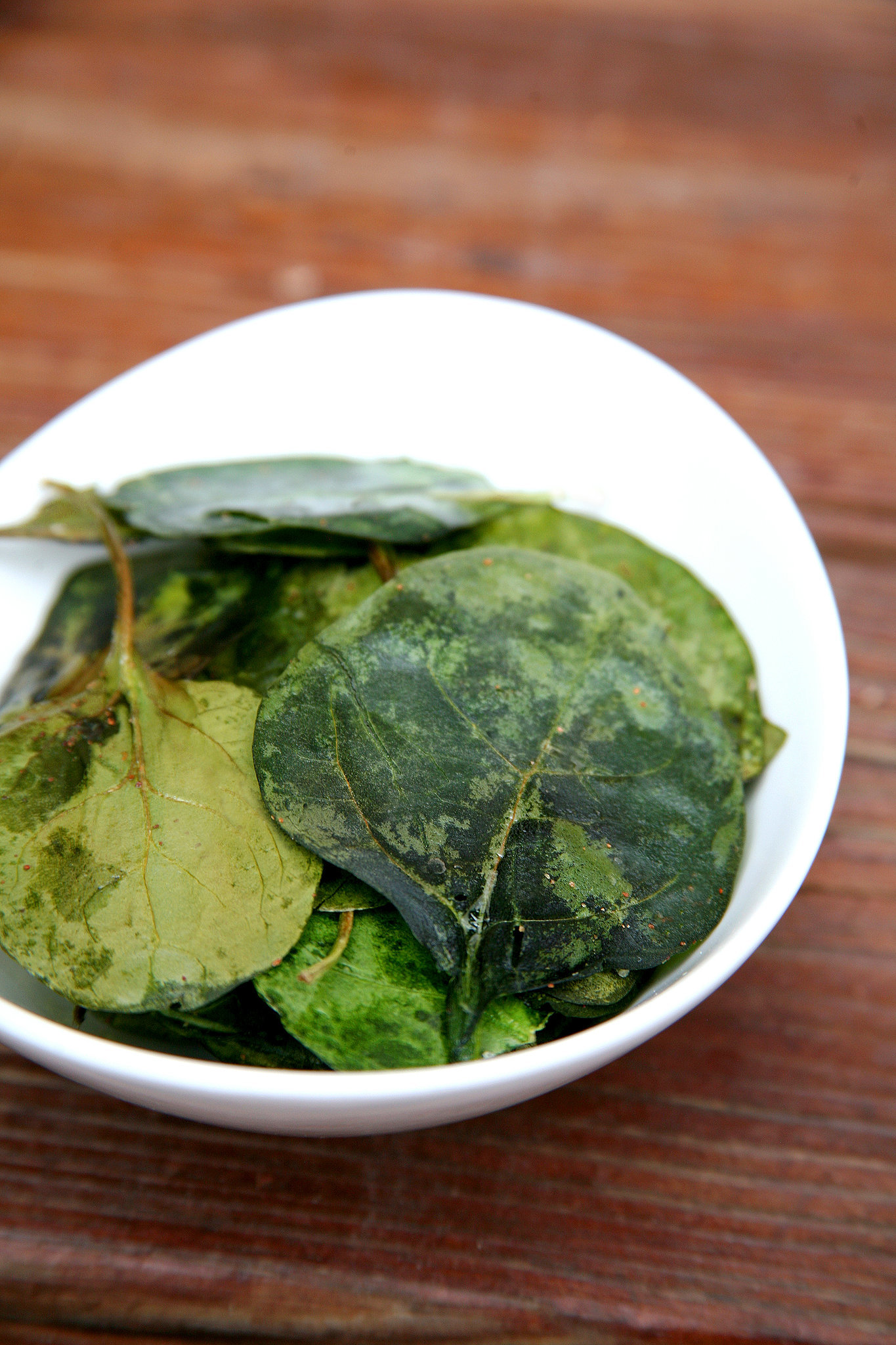 You can buy prewashed baby spinach, which makes this snack even faster ...