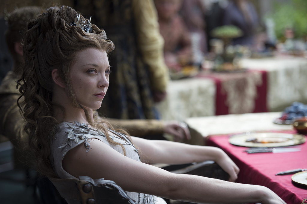 Margaery is vaguely unsettled during the reception. We all were.