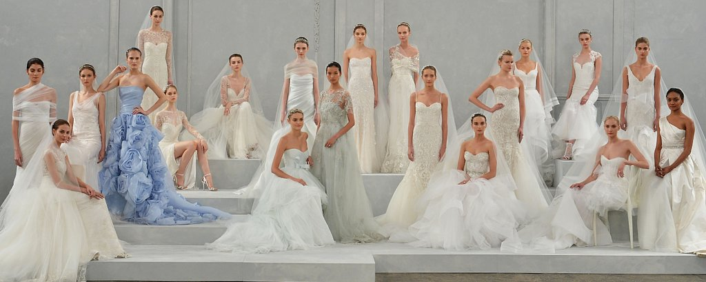 Every Bride's Dream Just Walked the Runway at Monique Lhuillier