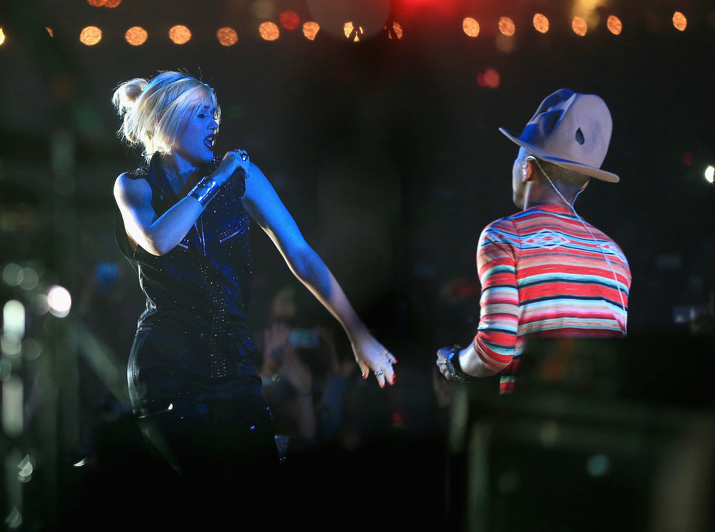 Gwen Stefani Rocks Coachella Six Weeks After Giving Birth!
