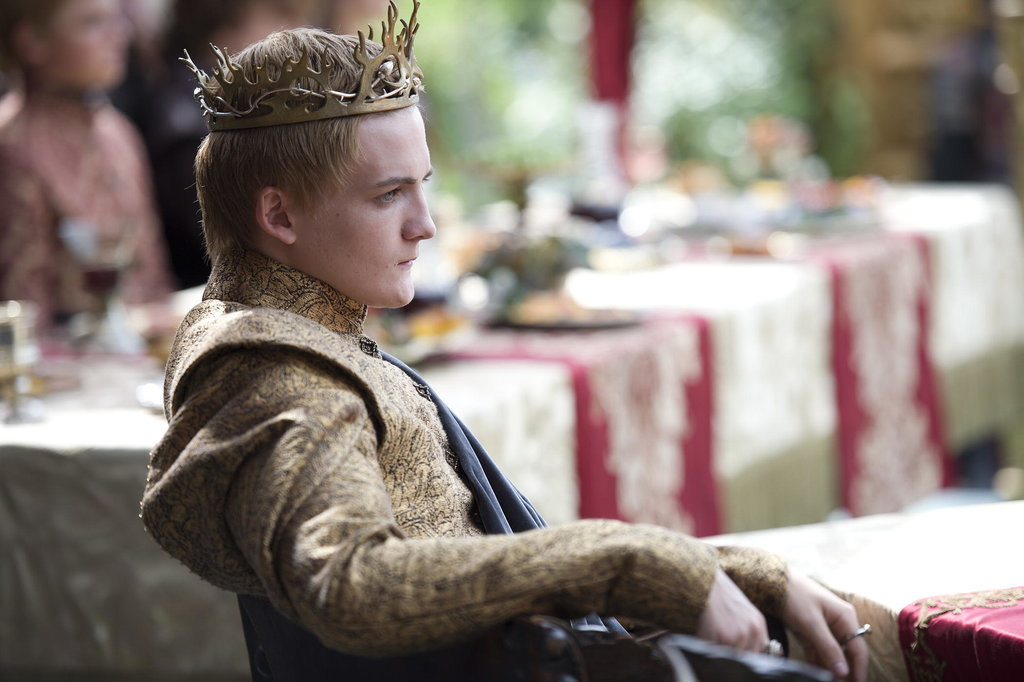 game of thrones who killed king joffrey popsugar celebrity australia. Black Bedroom Furniture Sets. Home Design Ideas