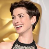 Pictures of Anne Hathaway Pixie Cut