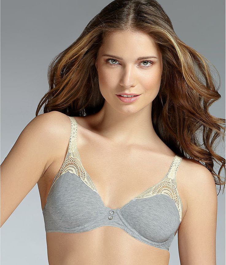 Huit Is Biotiful organic cotton wire-free bra ($68)