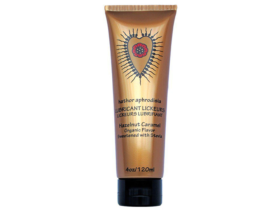 Vegan (paraben-, glycerin-, and petroleum-free) Hathor Aphrodisia Lubricant Lickeurs ($22)