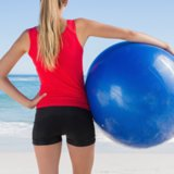 Stability Ball Exercises to Tone Back