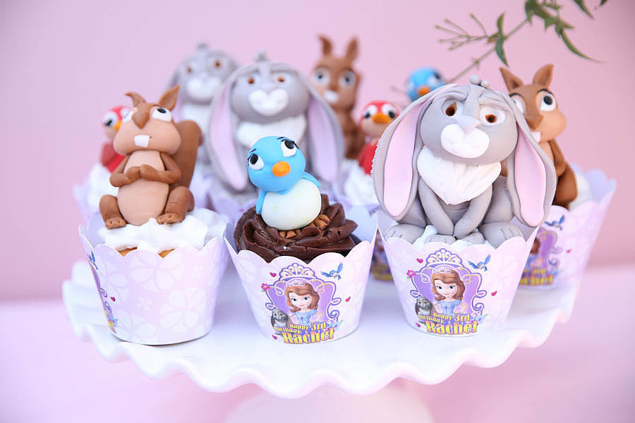 Enchanted Animal Cupcakes
