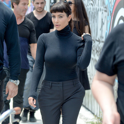 Kim Kardashian in Miami For a Photo Shoot