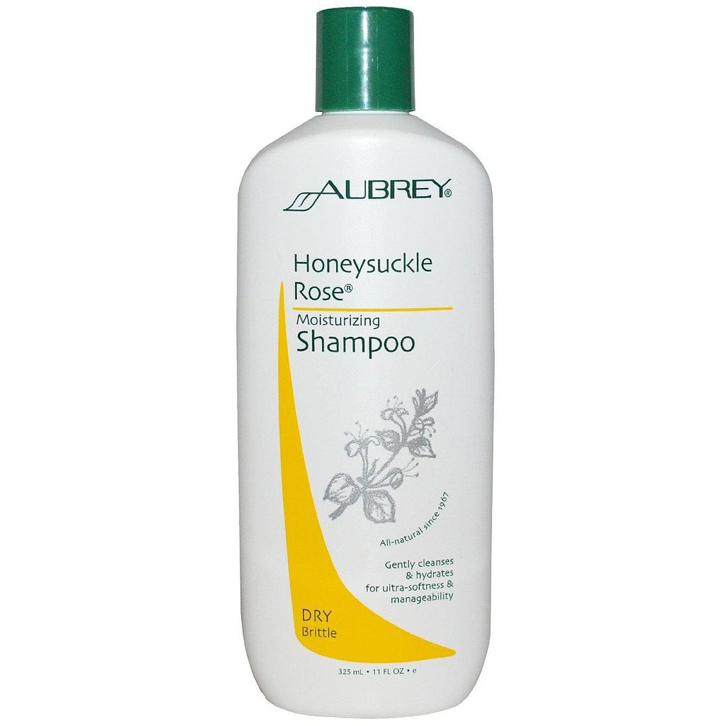 Aubrey Organics Honeysuckle Rose Moisturizing Shampoo