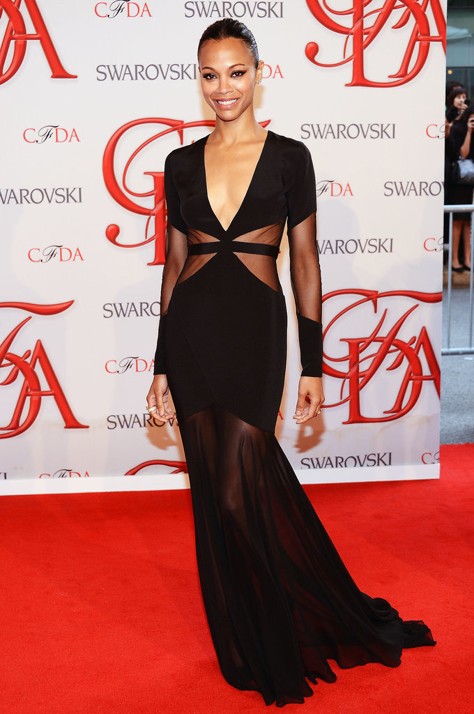 Zoe Saldana Will Be Wearing Prabal Gurung