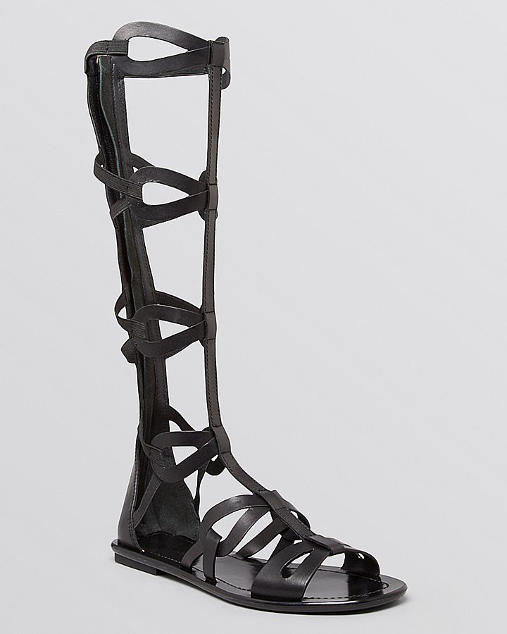Via Spiga Knee-High Gladiator Sandals