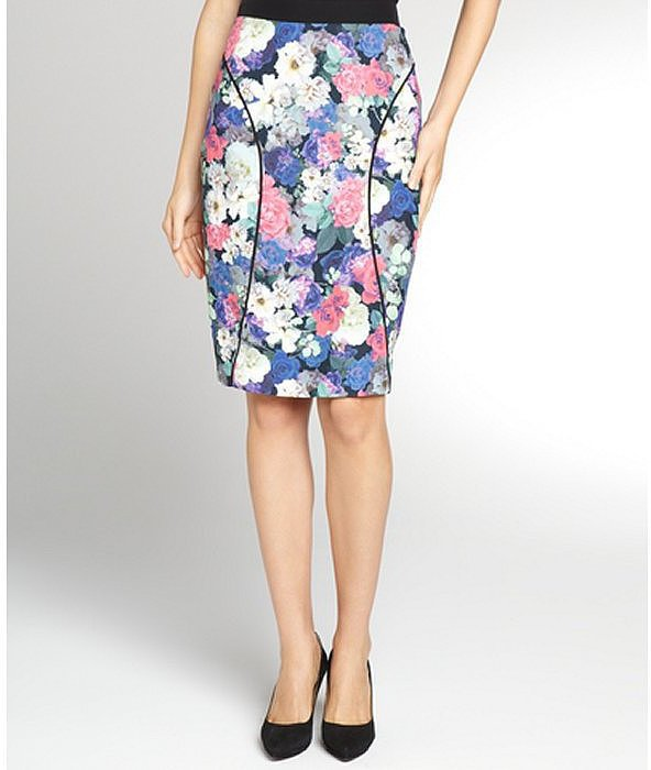 Rebecca Minkoff Floral Pencil Skirt
