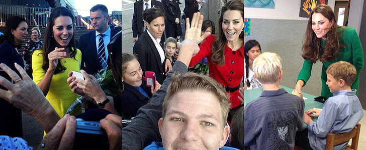 One Lucky Boy Got the Best Selfie Ever With Kate Middleton