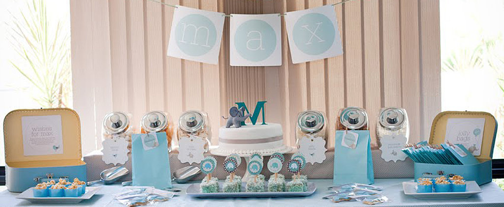 An Adorable Naming Ceremony With an Elephant Twist