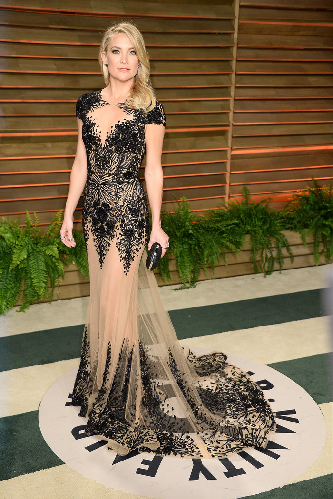 Kate Hudson in Zuhair Murad at the 2014 Vanity Fair Oscars Party