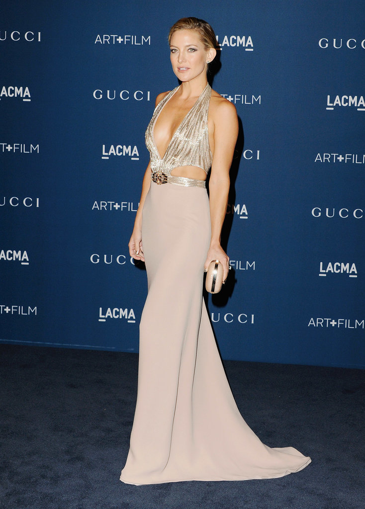 Kate Hudson in Gucci at 2013 LACMA Gala