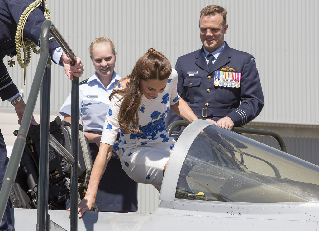 Kate Middleton Takes the Pilot Seat!
