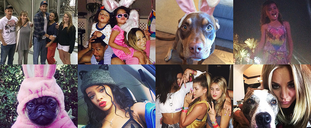 See How Stars Celebrated Their Spring Weekend!