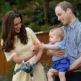2014 Royal Tour Kate Middleton Prince George Prince William