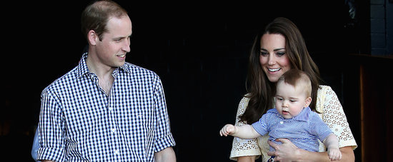 Prince George Celebrates His First Easter Sunday at the Zoo!
