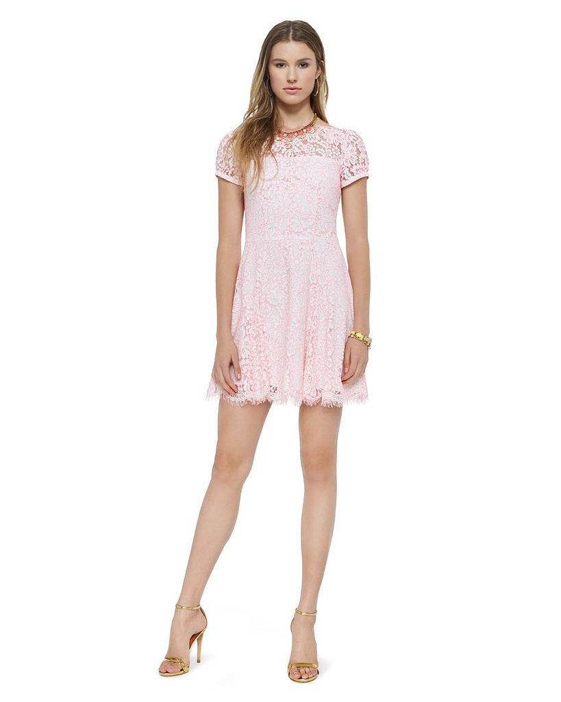 Juicy Couture pink neon lace dress ($190, originally $268)