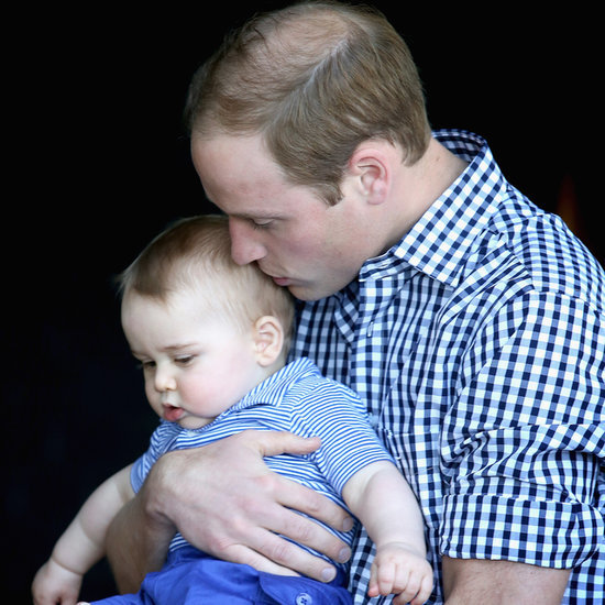 Cute Prince George and Prince William Pictures