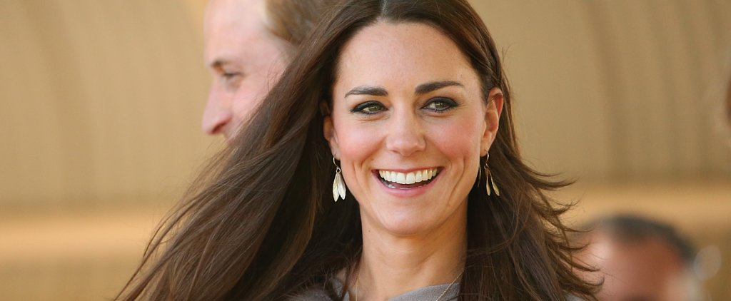 Kate Middleton Sports Straight Strands For Her Lesson in Snake Taming