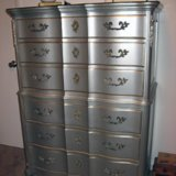 Before and After: A French Provincial Dresser From Drab to Fab