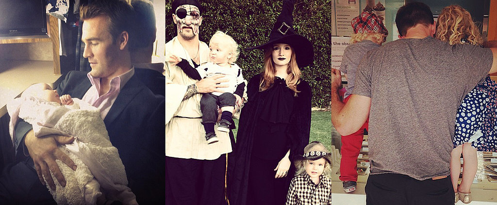 James Van Der Beek Goes From Dawson to Doting Dad