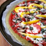 Gluten Free Quinoa Pizza Crust Recipe