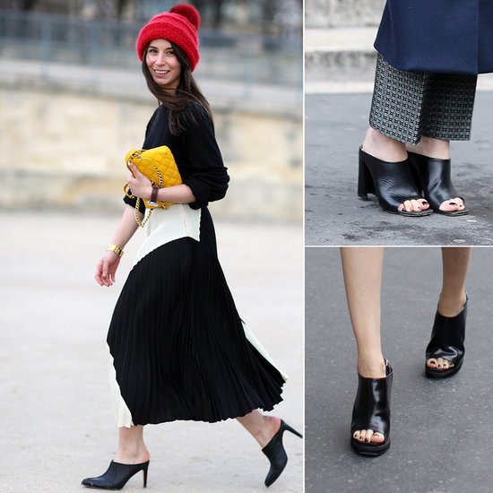 Shop the Street Style Trend, Mules