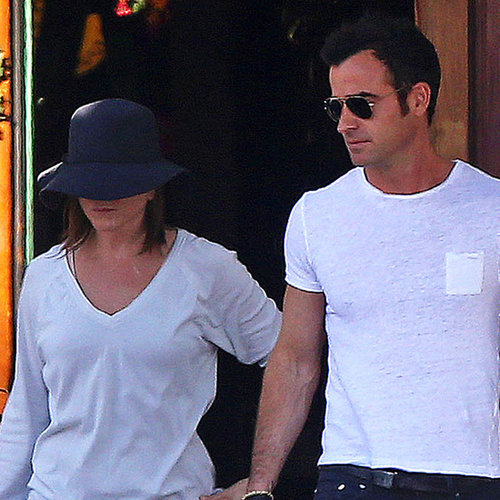Jennifer Aniston and Justin Theroux in LA | April 2014