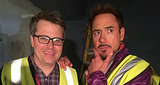 Robert Downey Jr. Tweets First Photo From 'Avengers: Age of Ultron' Set