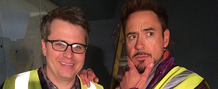 Robert Downey Jr. Shares a Look at Avengers: Age of Ultron