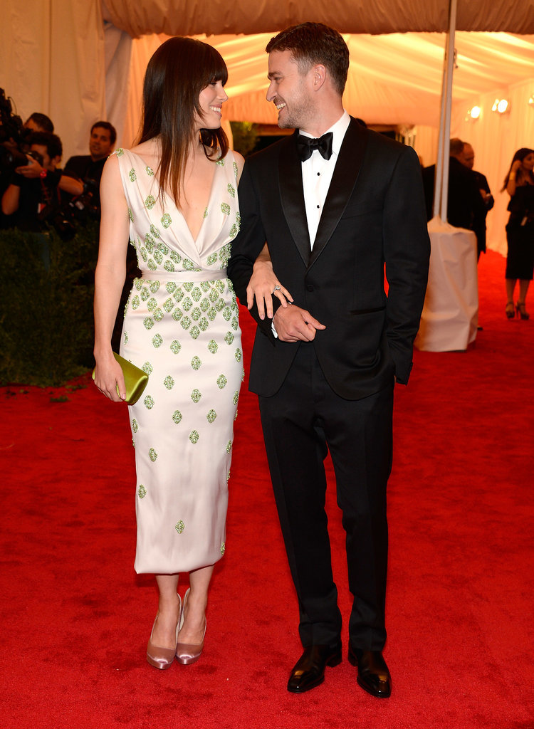 Jessica Biel in Prada at the 2012 Met Gala