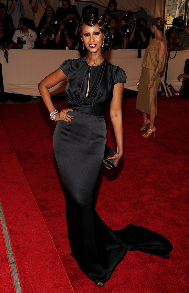 Iman in Prada at the 2010 Met Gala