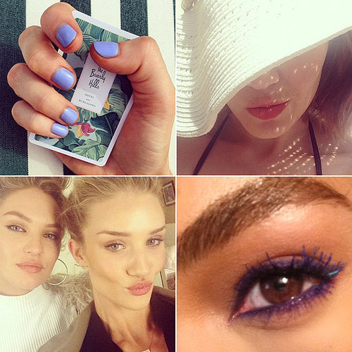 Celebrity Beauty Instagrams | April 24, 2014