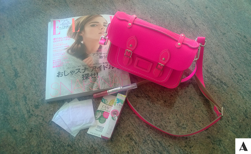 Cambridge Satchel Company Always Dailies Oil of Olay Covergirl Elle Japan