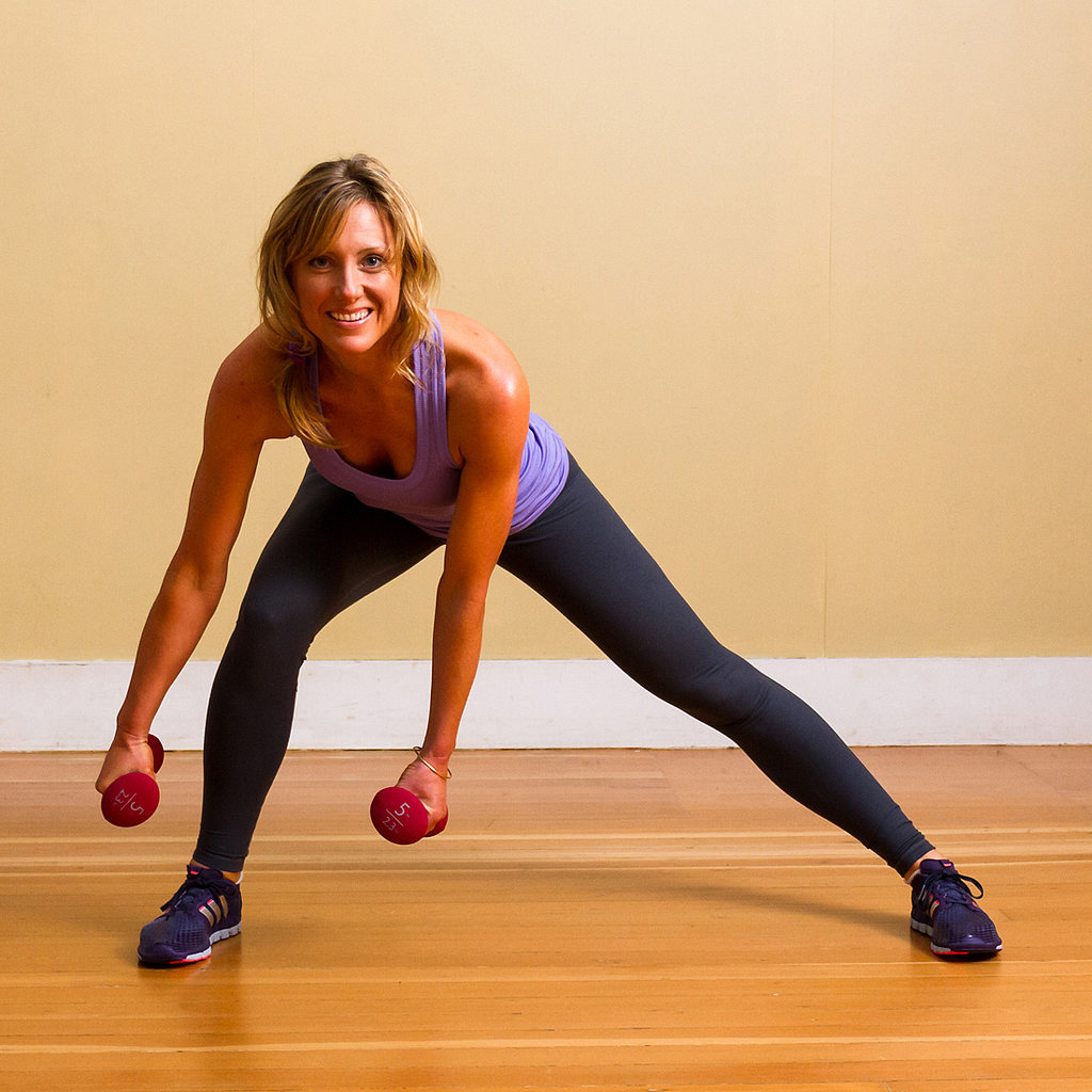 Move 2: Side Lunge