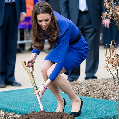 Kate Middleton Planting Trees | Pictures