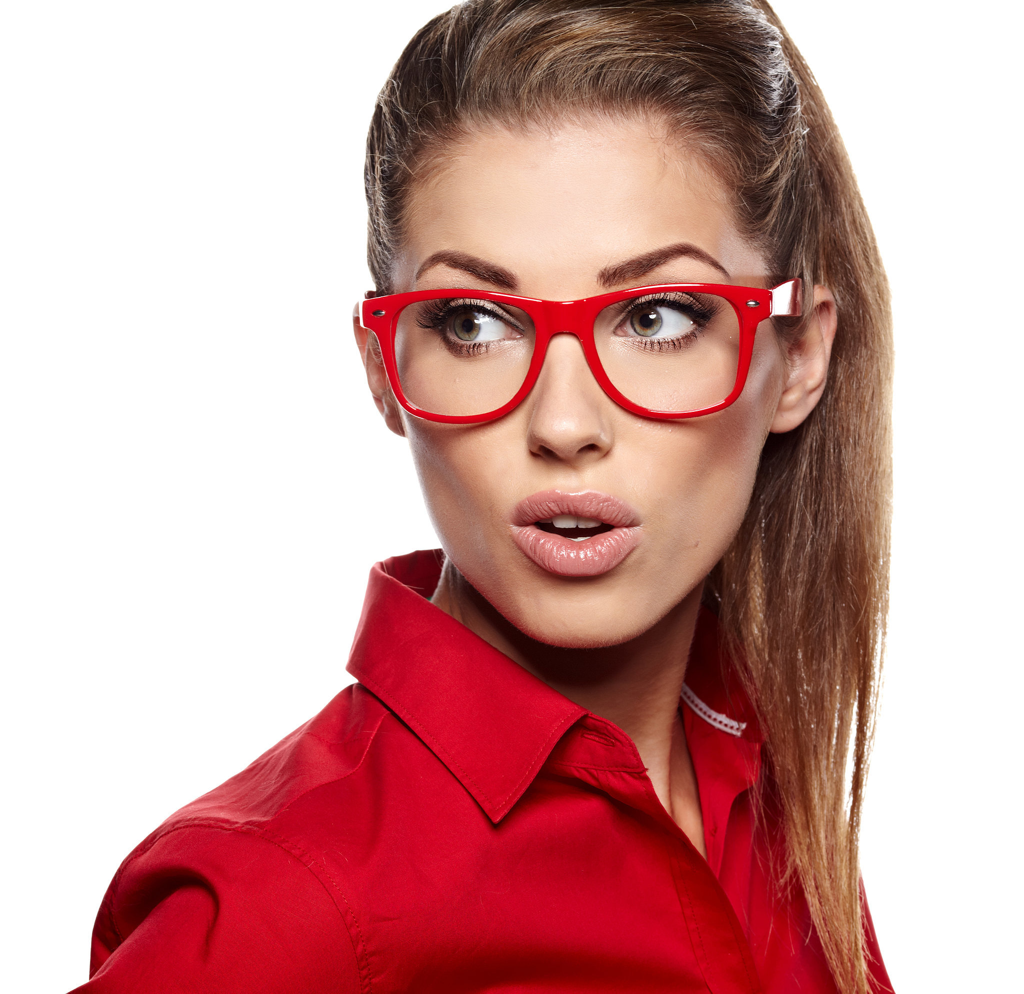 Big Red Frame Glasses : 1000+ images about Eyeglasses on Pinterest