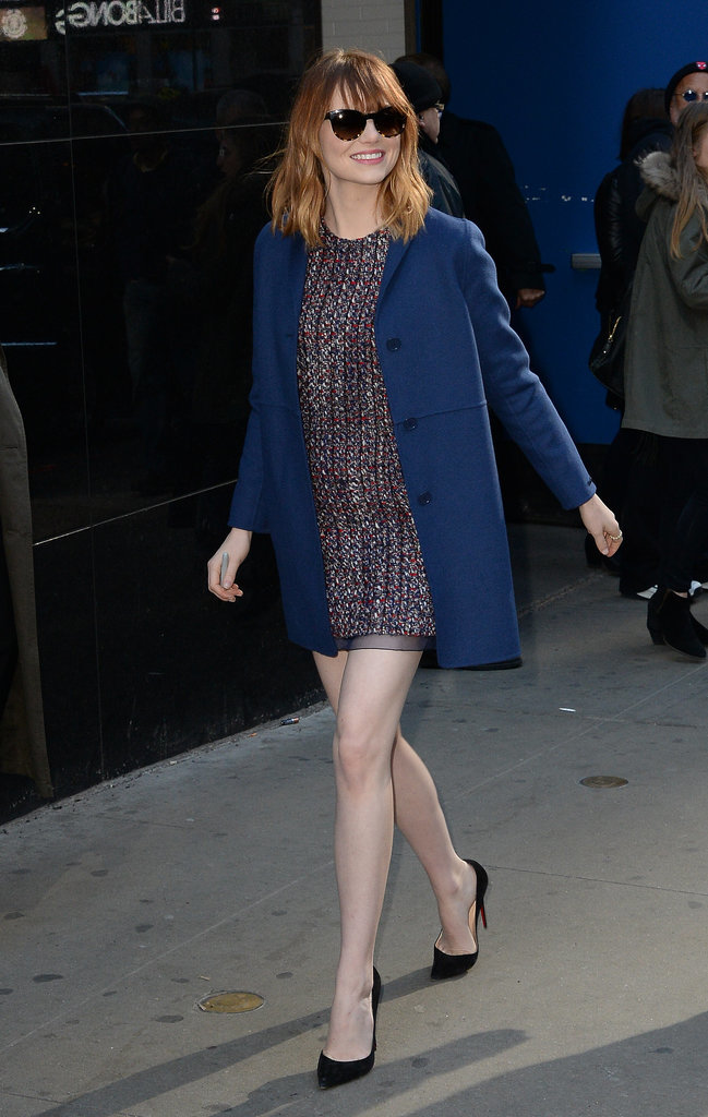 Emma Stone at Good Morning America