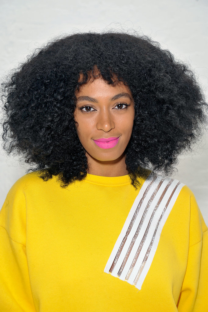 Solange Wears Our Favorite Spring Colors — All at Once
